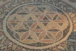 Floor mosaic in the bathhouse